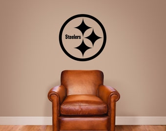 Pittsburgh Steelers Vinyl Wall Decal Sticker Graphic