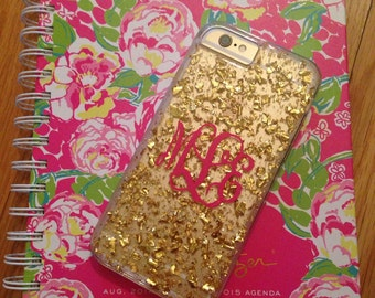 Monogram for iphone cover