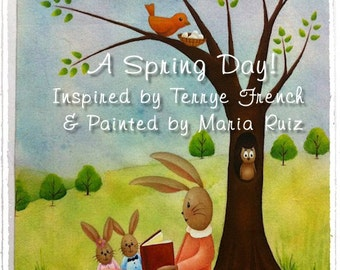 A Spring Day_Maria Ruiz,  Painting With Friends E Pattern