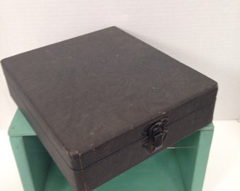 Vintage Slide Storage Box From The Fifties