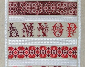 The Learning Sampler PDF Chart by Northern Expressions Needlework