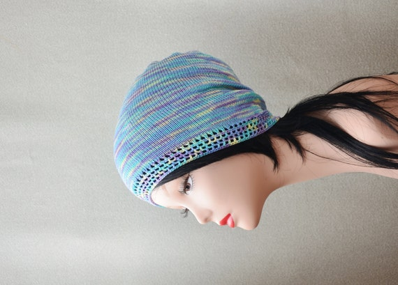 Summer Beanie Hat Crochet Pattern : summer hat knit hat beanie crochet hat Knitting by ...