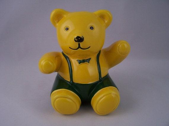 bear piggy bank