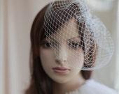 Bridal mini veil ---mini tulle veil-----v247