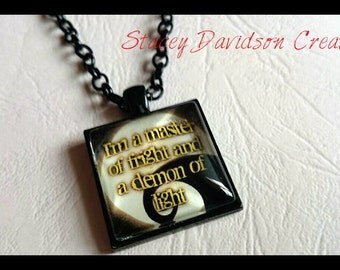 Jack Skellington necklace/pendant/Nightmare Before Christmas jewellery/Halloween/TimBurton/gift for her