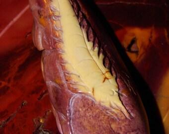 Australian Mookaite Marlin Necklace