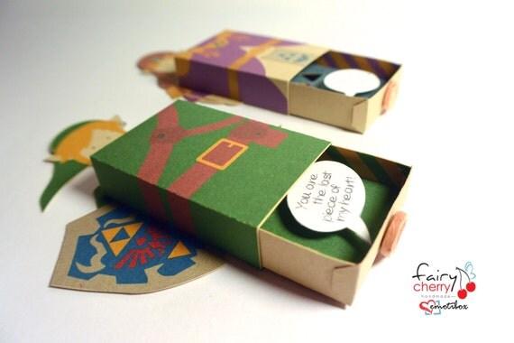 zelda link emotibox fridge magnet geek card von fairycherry auf etsy, Birthday card