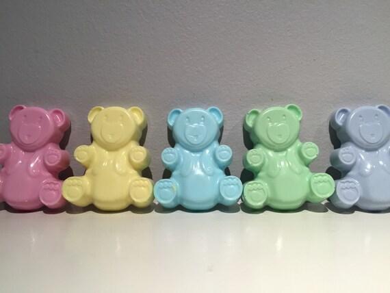 Teddy Bear Soap Bear Soap 2 5 Oz Soap Goat Milk Soap