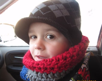 Cowl/Infinity Scarf for toddler or child