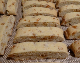 Caramel Biscotti cookie 1 dozen Cookies MadeByMamaB