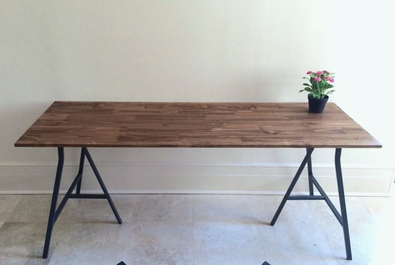 72x24 Long Dining Table Narrow Dining Table Wood By Goldenrulenyc