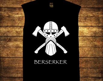 Berserker men's sleeveless T shirt