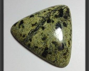 Serpentinite cabochon 45x7mm