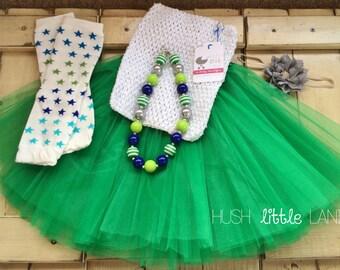 Tutu Set - Tutu - Chunky Necklace - Leg Warmer - Headband - Photograpy Prop - First Birthday Outfit -Cake Smash - Ready to Ship