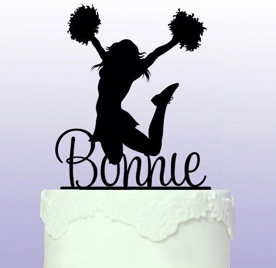 Cheerleader Cake Topper Uk