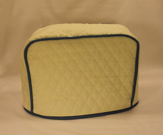 items similar to 2 slice toaster cover fits any toaster 300 color combos cream country. Black Bedroom Furniture Sets. Home Design Ideas