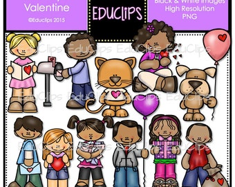 Be My Valentine Clip Art Bundle