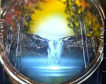 Beautiful rendition customized spray paint by for Dream catcher spray painting