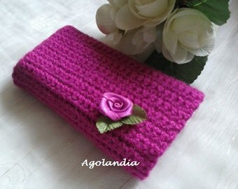 Knitted Case Phone Cover Wool Hand Made Crochet