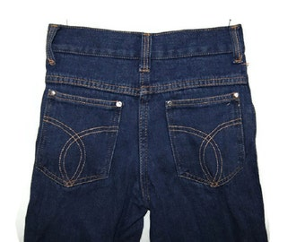 70's children high waisted jeans (174)