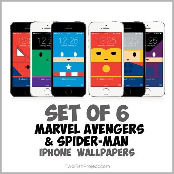 Marvel Avengers IPhone Wallpapers: Spiderman Captain America
