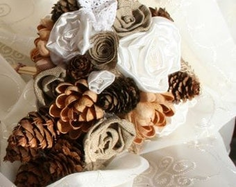 Small Rustic Wedding Bouquet