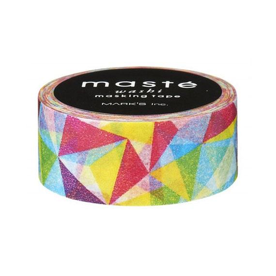 Geometric pattern washi tape by mast masking tape japan for Geometric washi tape designs