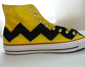 Charlie Brown Custom Converse All Stars