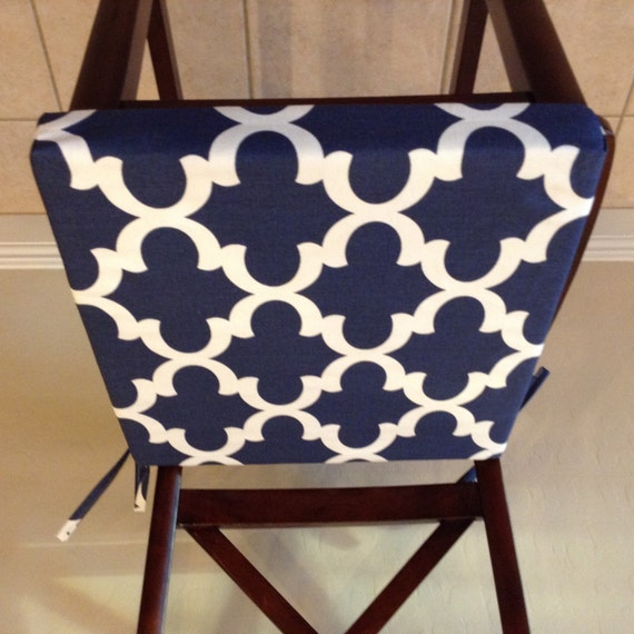 Navy Blue Seat Cushion Cover Chair Back Cover Washable : il570xN706938238n0so from www.etsy.com size 570 x 570 jpeg 66kB