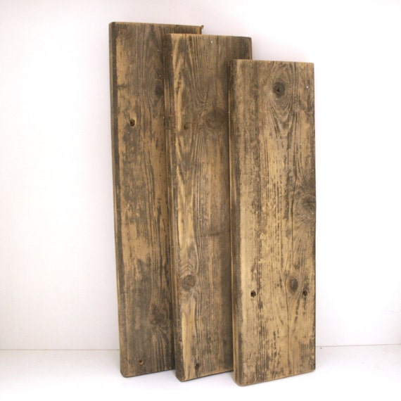 Reclaimed wood craft sign variety of sizes wood boards for Recycled wood board