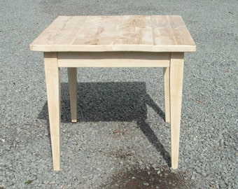 Country Cafe Bistro Kitchen Dining Table