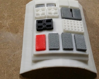 Wedge Antilles rebel pilot 3D printed commpad from SW-ANH