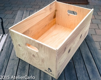 Wooden Crate, wooden box, storage, safe keeping, planter, utility item