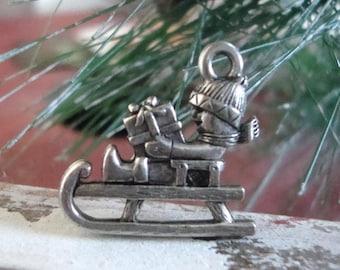 Christmas Sleigh charm