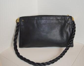 Classic Black Leather Relic Purse
