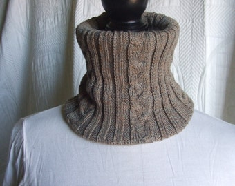 neck warmer scarf knitted wool baby