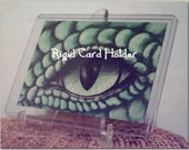 Single Card Holder Rigid Clear 3X4 inch Topload Protect Photos or ACEO
