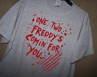 A NIGHTMARE On ELM STREET Movie T Shirt