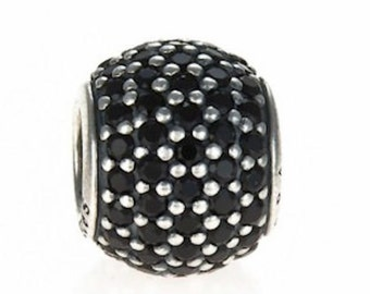 Pandora Black Pave Lights Charm