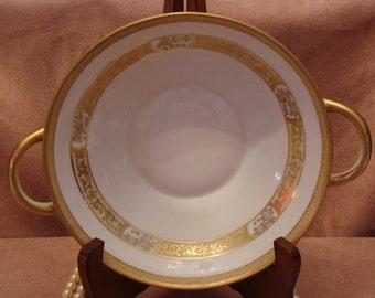 Vintage Nippon golden Bowl made in 1911.