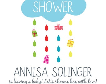 Rainy Day Shower Invitation