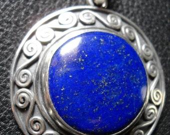 Original pendant with Lapislazuli