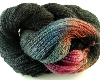 Hand Dyed Alpaca/Merino Lace Weight - 610 yards/100 grams Y1252