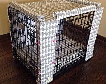 Custom Kennel Cover with Borders