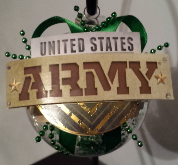 US Army Christmas Ornament United States Army by ...