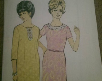 Blackmore pattern 4134 bust 40, plus sized vintage dress pattern