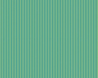 Splendor Blue and Green Stripe by Lila Tueller