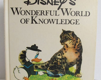 Disney's Wonderful World Of Knowledge - 1973 Animal Facts