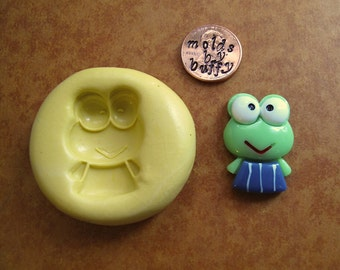 FROG silicone flexible mold, resin mold, food mold, pmc mold, jewelry mold, crayon mold, fondant mold