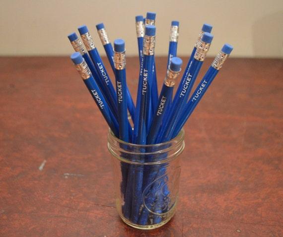 Custom Pencils Set Of 12 Custom Pencils Gold Foil Pencils